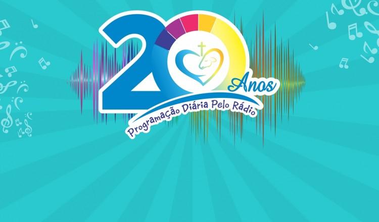 Aniversário dos 20 anos de programação diária pelo Rádio