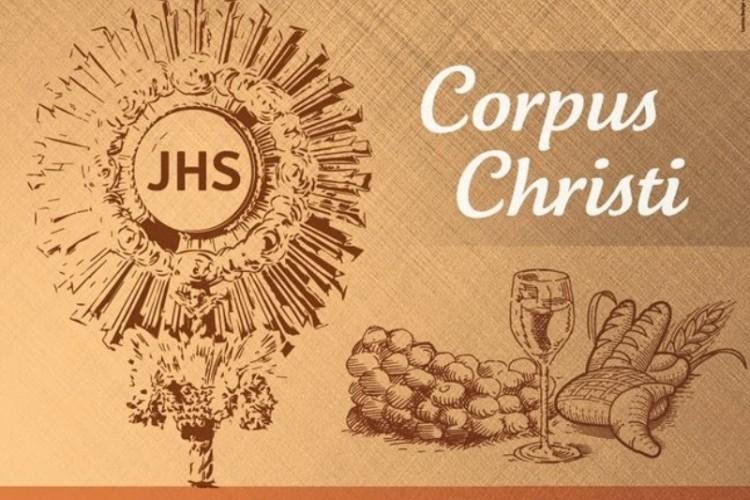 Programação de Corpus Christi na Arquidiocese de Montes Claros