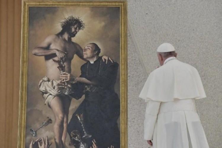Papa: Sangue de Cristo ensina a doar a vida aos outros