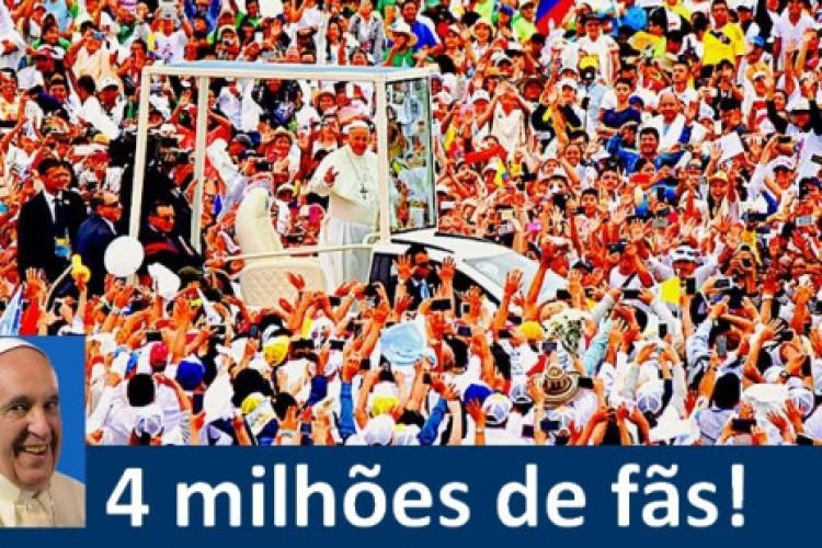 """Página """"Papa Francisco Brasil"""": 4 milhões de fãs na rede social que chegou a bloqueá-la"""