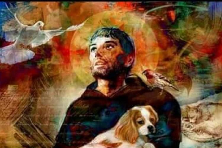 São Francisco de Assis Fundador da Ordem dos Franciscanos
